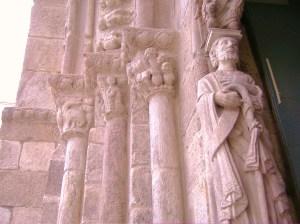 Capiteles Románicos en La Coruña