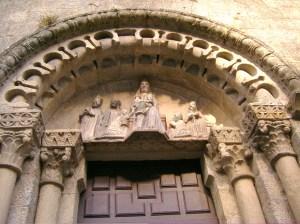 Iglesia Románica en Santiago de Compostela